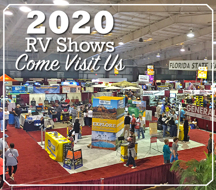 Come See Us at a RV Show